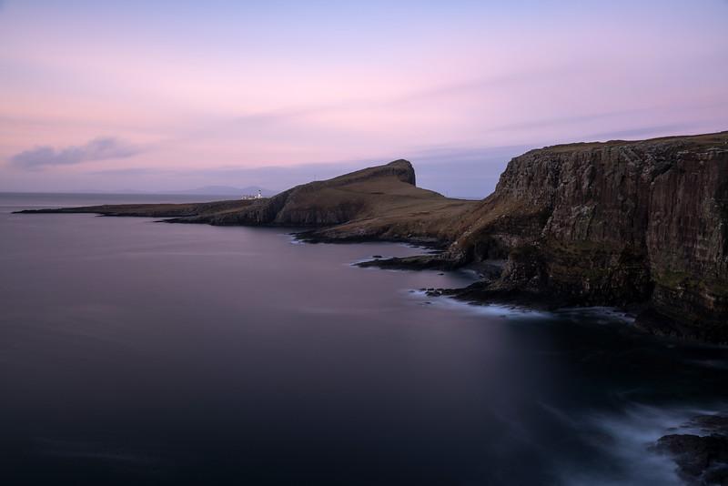 Neist Point Lighthouse pre sunrise