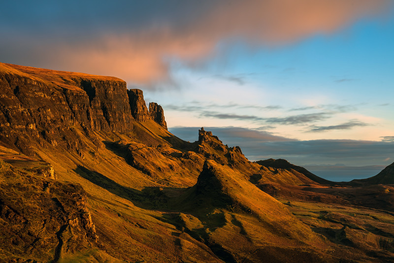 Quiraing early morning light