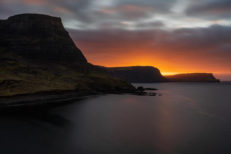 Neist looking towards Ramasaig sunrise