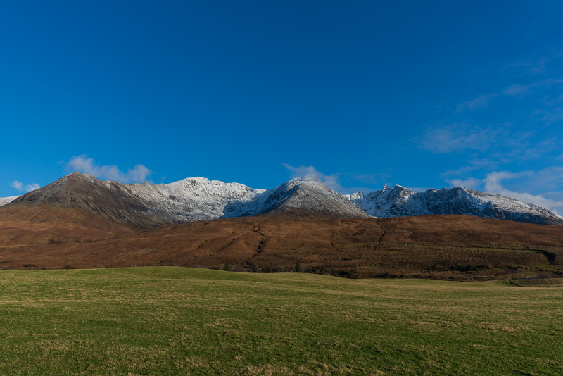 Cuillins from Glenbrittle