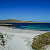 Small beach within Balta Sound, Unst