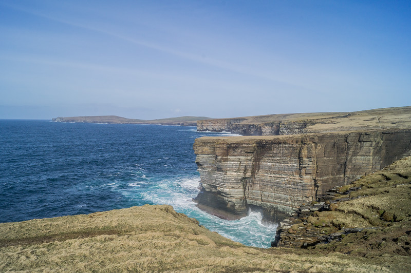 Noup Head Cliffs, Westray