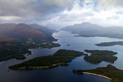 Looking north along Loch Lomond