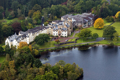 Cameron House Hotel on Loch Lomond.