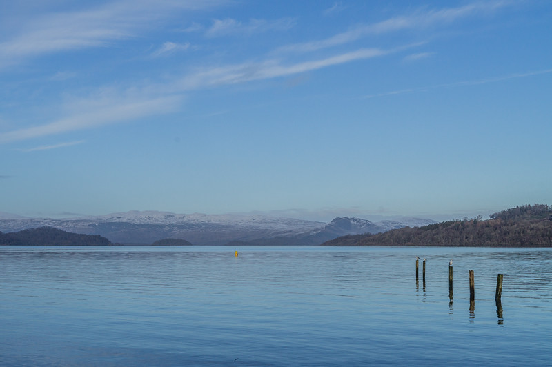 Loch Lomond from Duckbay Hotel