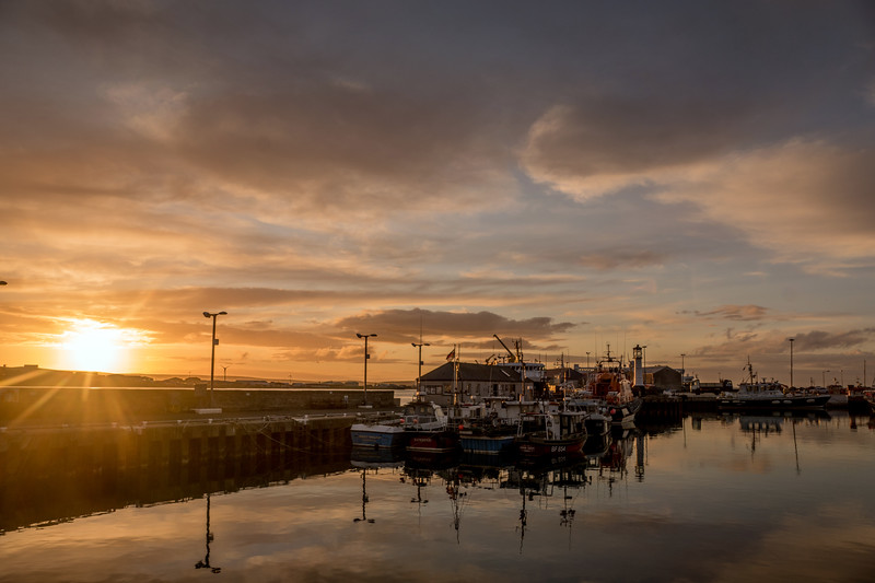 Kirkwall Harbour, May 2016