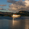 Hebridean Princess at Plockton