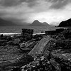 Rocky Elgol view to Cuillin Hills