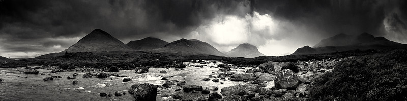 Stormy Weather across River Drynoch
