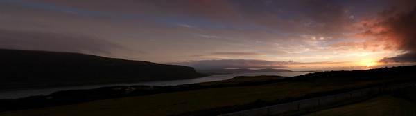 A Waternish Sunset (Skye)