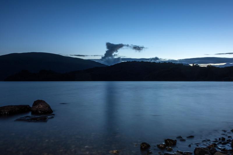 Loch Lomond dusk