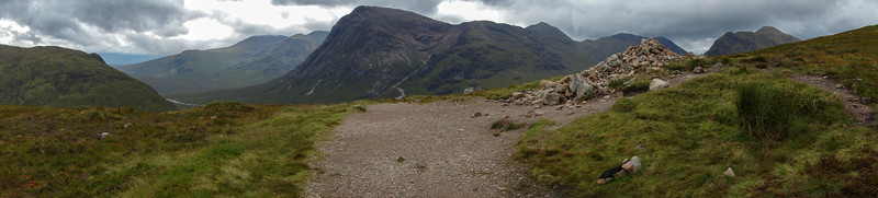 Devil's staircase panorama