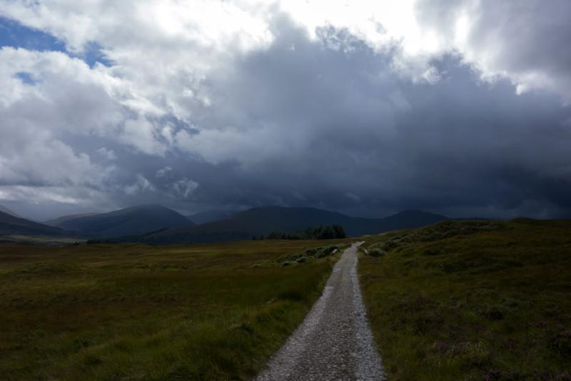 Rannoch Moor/Glen Coe looking back towards Inveroran