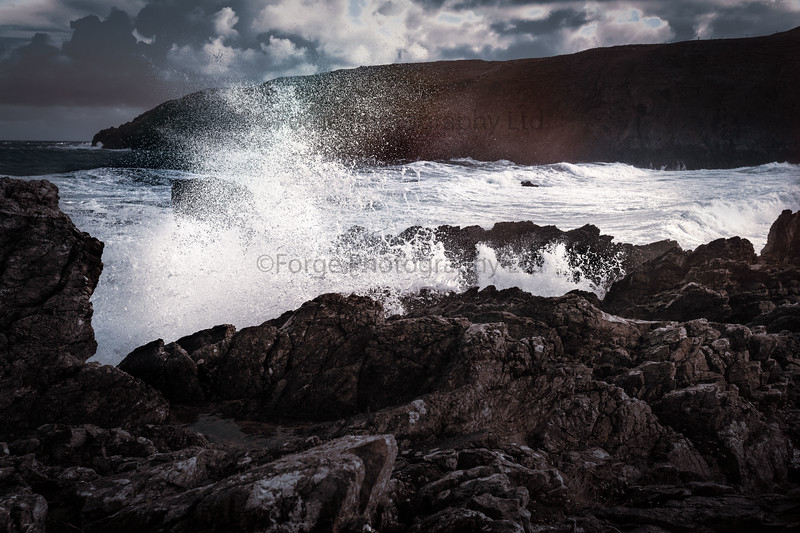 Durness, at the tail end of a storm