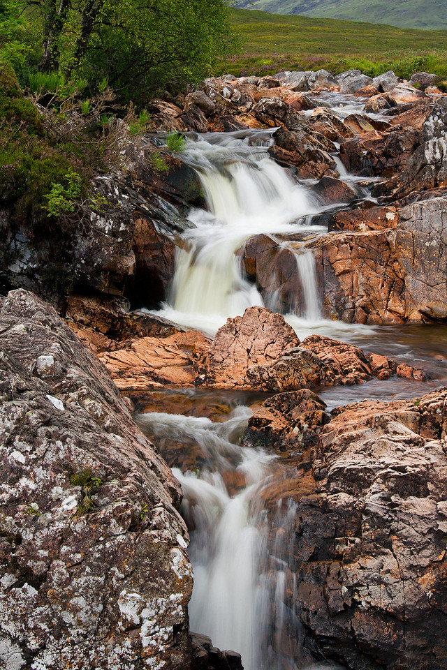 Coupall River Falls, Etive Mor