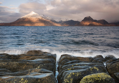 Dappled mountains at Elgol