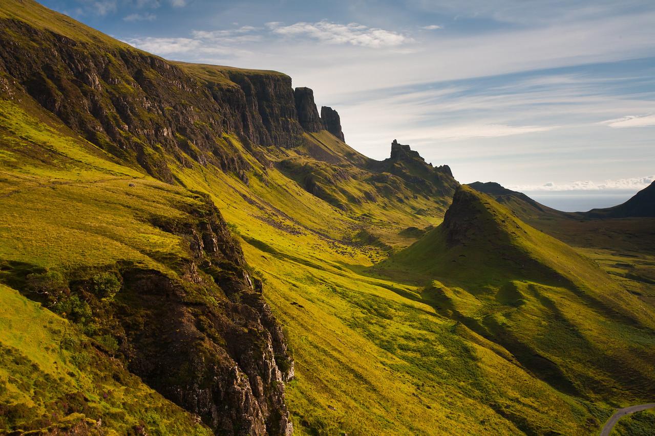 The Quiraing, Trotternish Ridge, Isle of Skye