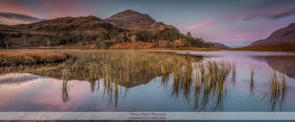 Dawn at Loch Clair