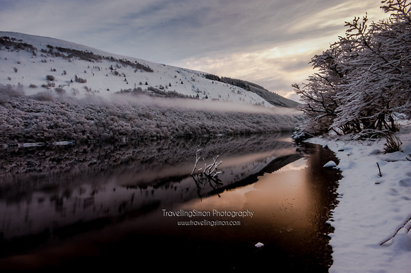 Winter magic at Loch Oich