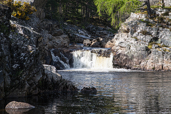 The Waterfall at Little Garve