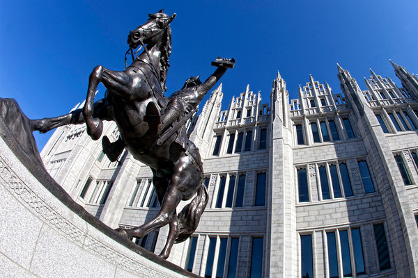 Robert the Bruce, Marischal College, Aberdeen, Scotland