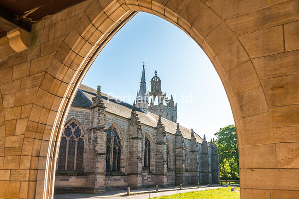 Kings College from The Cloisters, Old Aberdeen, Scotland