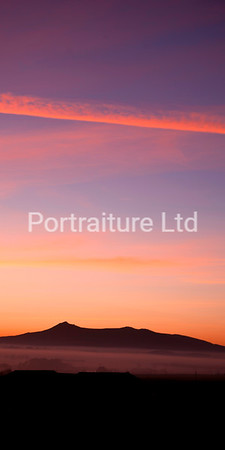 Bennachie Sunset, Aberdeenshire (p)