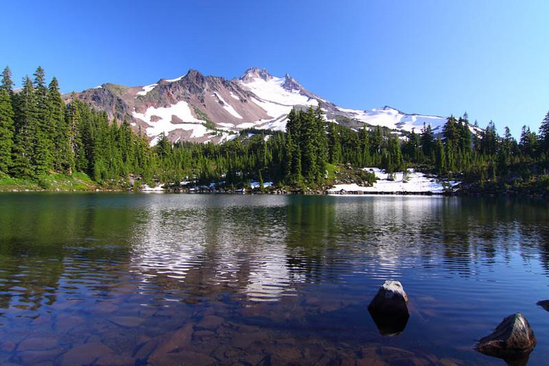 Scout Lake at Jefferson Park, Mt. Jefferson, Oregon