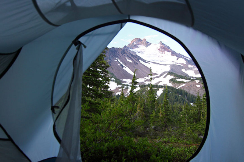 A window to Mount Jefferson...What a view!
