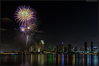 Summer Pops over San Diego 29JUL16.