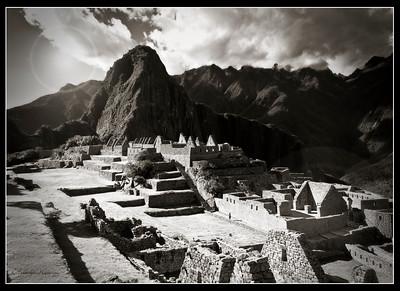 Sacred Mountain, Machu Picchu, Peru