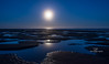 moonset at low tide-1338