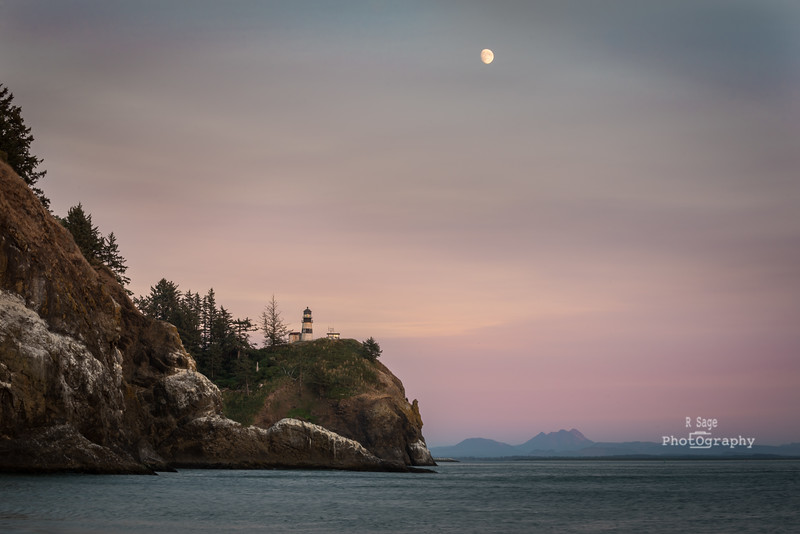 cape disappointment moonrise-4367