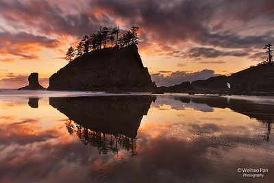"""Second Beach Reflection"""