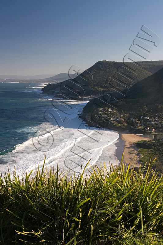 Stanwell Tops and a glimpse of the completed Seaview bridge.  The bridge took 2 years to built.