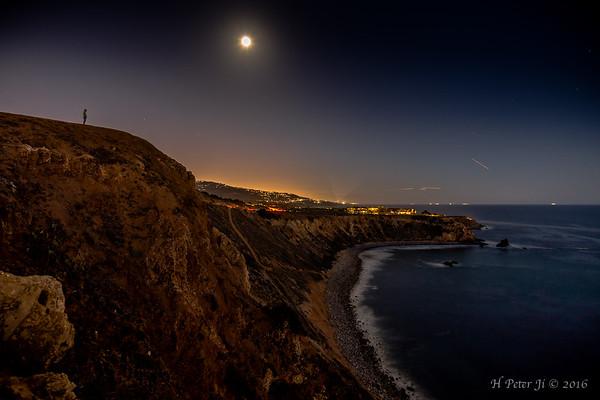 Moon, stars and me