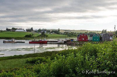 Harbour at French River. French River, Prince Edward Island.