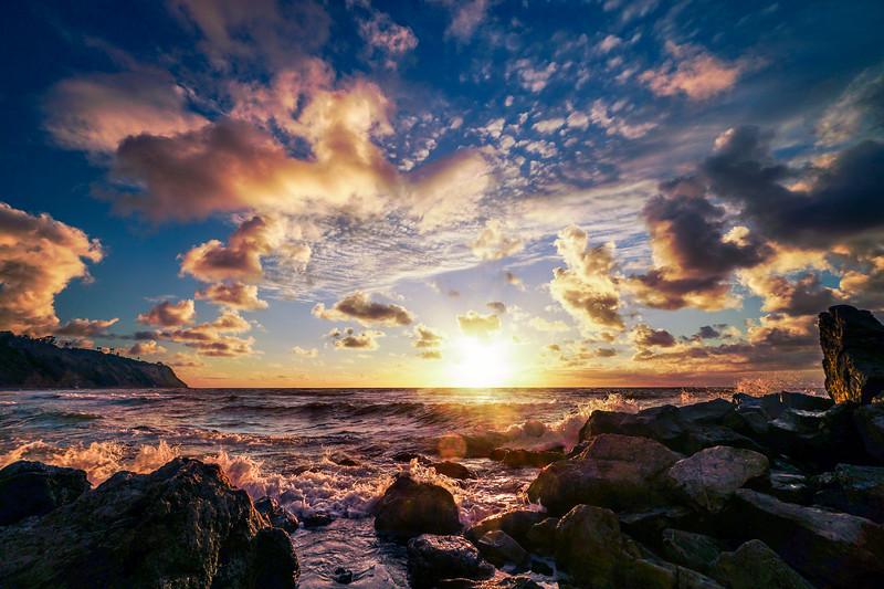 Intense golden hour moments