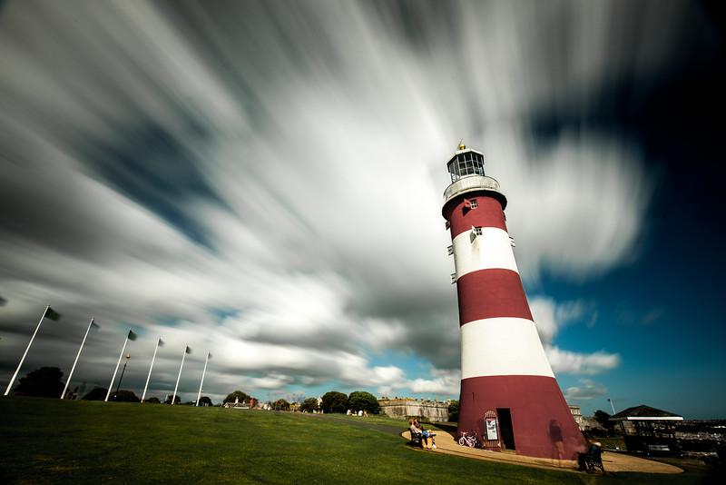Summer Sky Lighthouse
