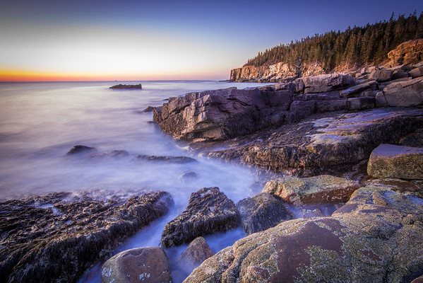 Dawn at Acadia
