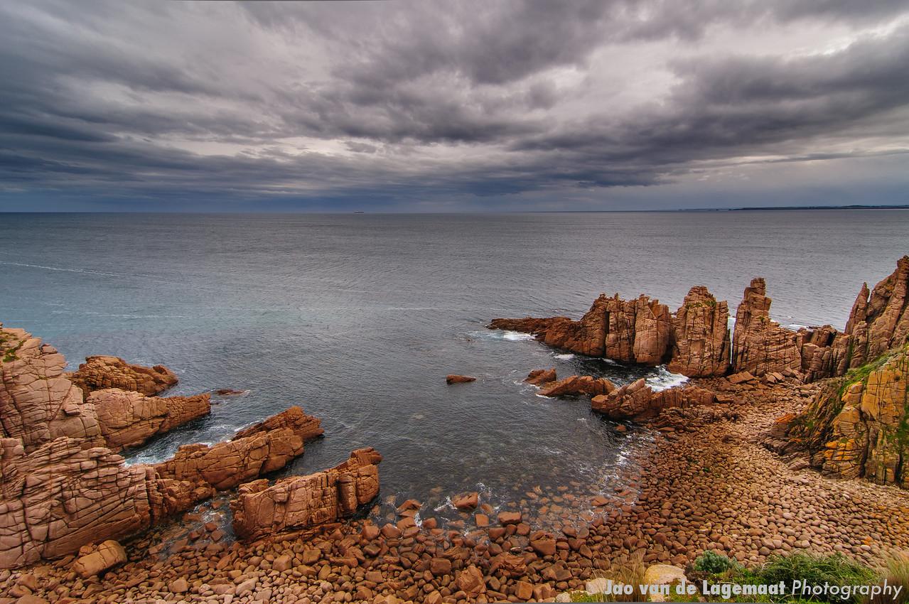 The pinnacles on Phillip Island