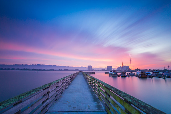 Emeryville Marina Sunrise