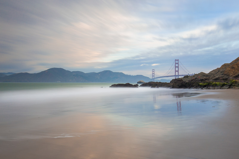 Baker Beach and the Bridge