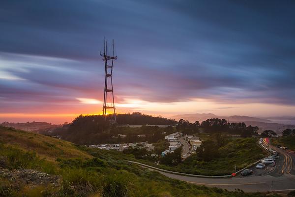 Sutro Sunset