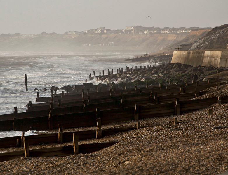 Milford-on-Sea, January 2012