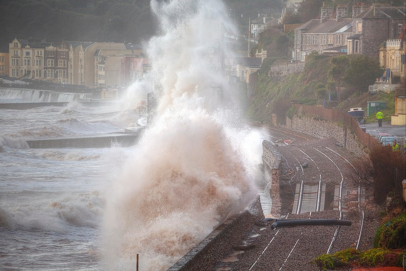 Dawlish Railway Damage