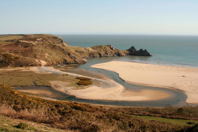 Five Cliffs Bay, Wales