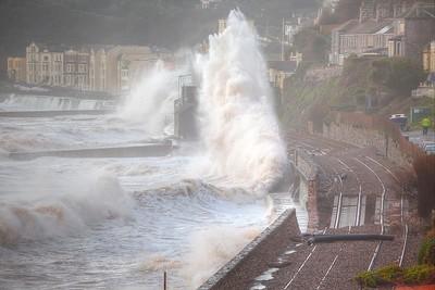 Dawlish Railway Damage