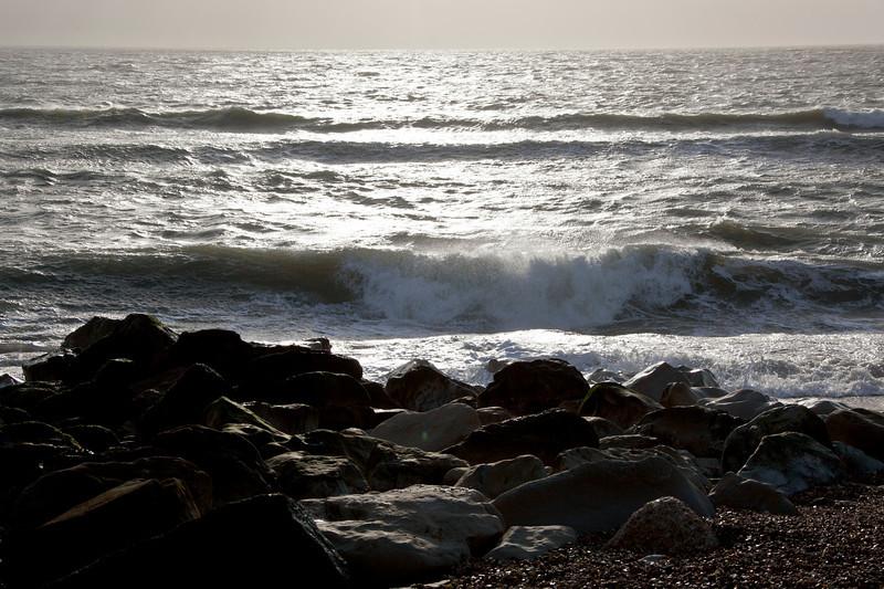 Milford-on-Sea, January 2012