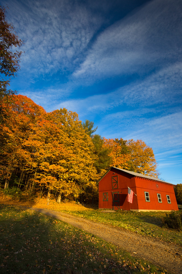 Redder than Gold. Springfield, Vermont